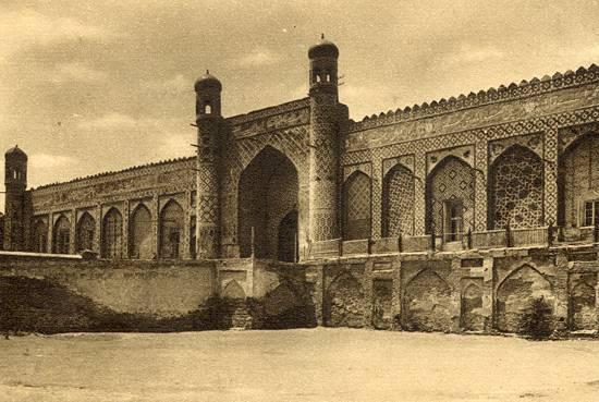 Kokand. Palace Khudayar-khan.