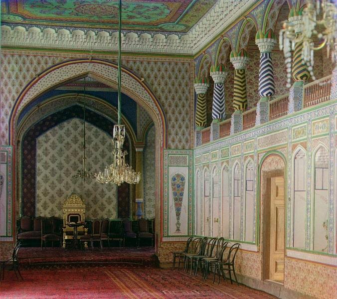 Фотографии Прокудина-Горскго летнего дворца Ситора Мохи-Хоса.
