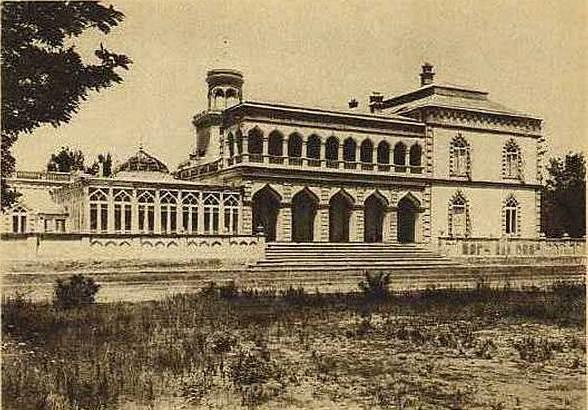 Ситора-И Мохи-Хоса дворец. 1905 год.