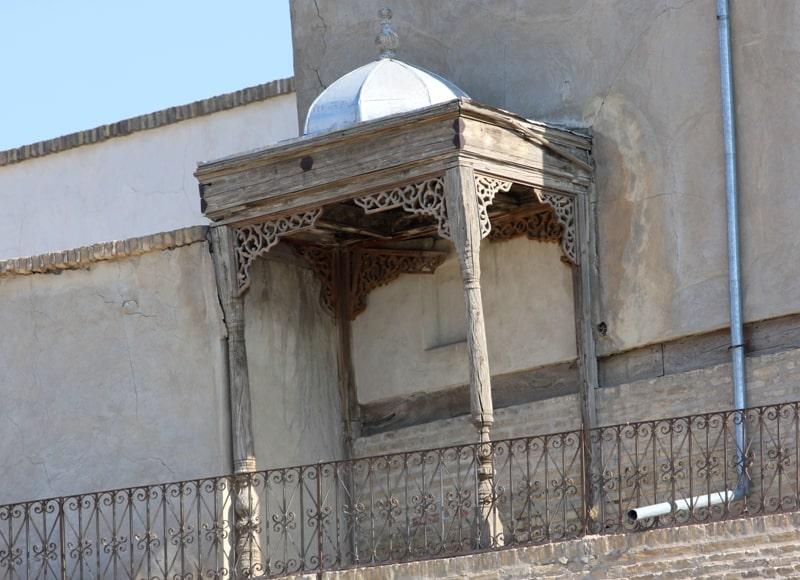Балкон мечети Джума.