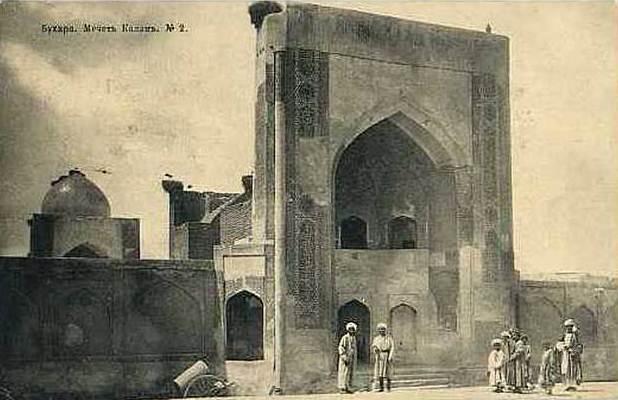 Калян мечеть в Бухаре. 1905 год.