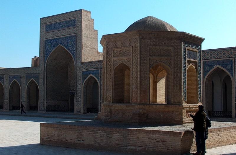 Калян мечеть в Бухаре.