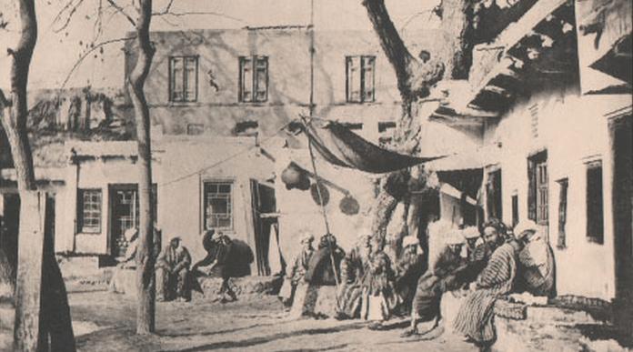 Старая Бухара. Лябихаузъ. Boukharie. Liabikhaus. № 31. Фототипiя Шереръ, Набгольцъ и Ко, Москва 1903 год.