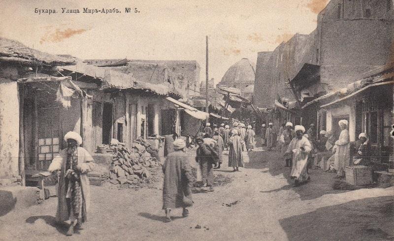 Мири-Араб медресе в Бухаре. 1905 год.