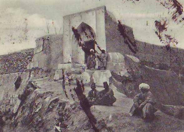 Тюрьма в Бухаре. Конец XIX века.