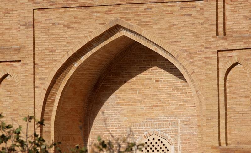 Мухаммада Содика мавзолей и его окрестности у кишлака Лянгар.