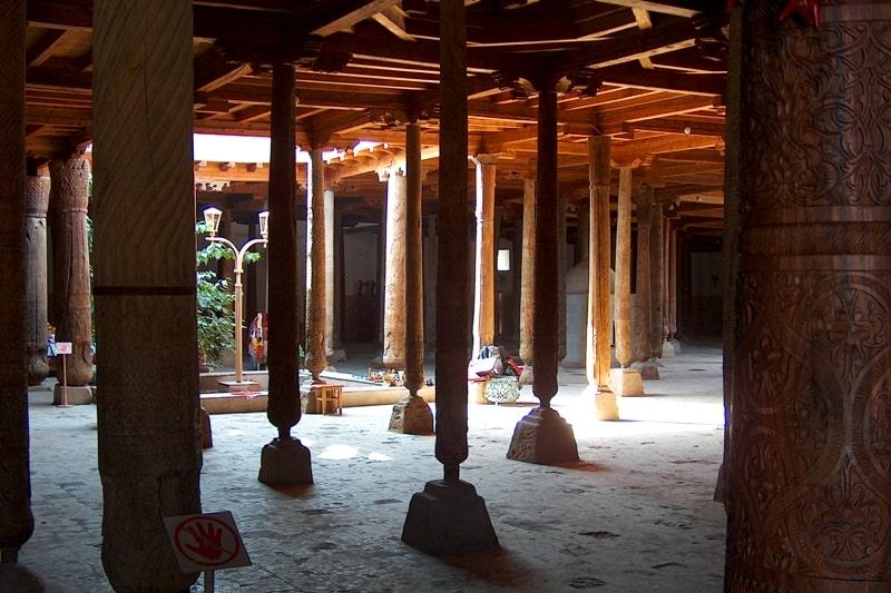 Джума мечеть в Хиве.