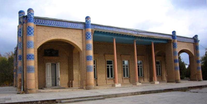 Нурулла бая дворец в Хиве.