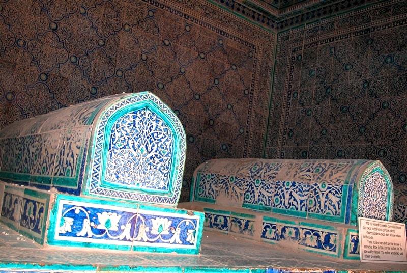 Сейида Аллаутдина мавзолей в Хиве.