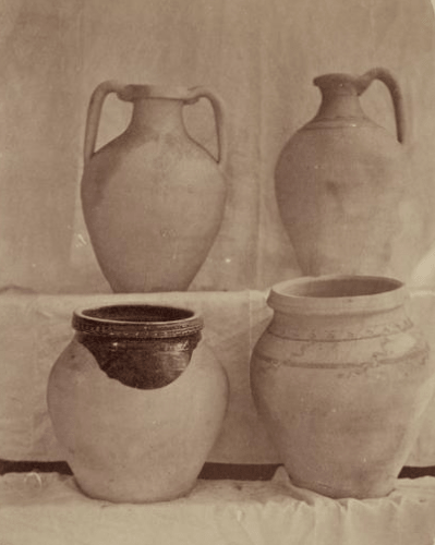 House utensils. Photos from the Turkestan album. (1871 – 1872).