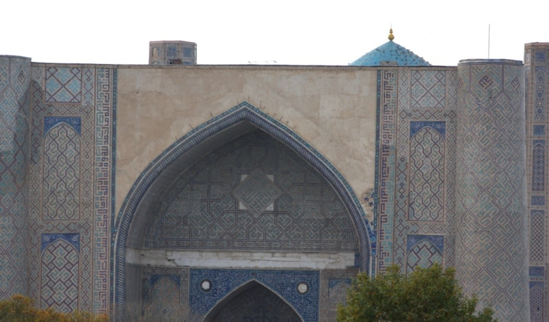 Bibi-Khanym cathedral mosque.