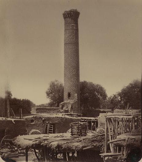 Фотография мечети Биби Ханум Поля Надар. 1890 год.