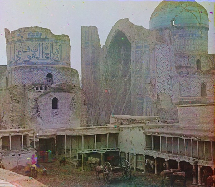 С. М. Прокудин-Горский. Мечеть Биби-Ханым.
