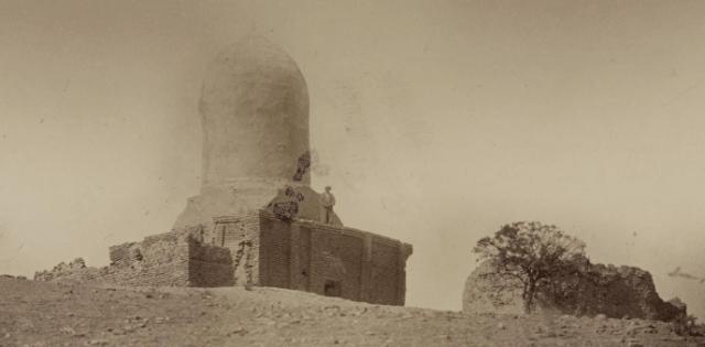 Чупан-Ата и мосты Шадман Малик и Чар Минар. Фотография из Туркестанского альбома.