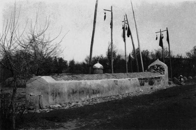 Мавзолей Святого Даниила. Фотография начала XX века.