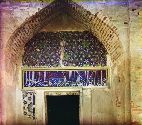 Тамерлан. Гравюра по средневековому среднеазиатскому изображению.
