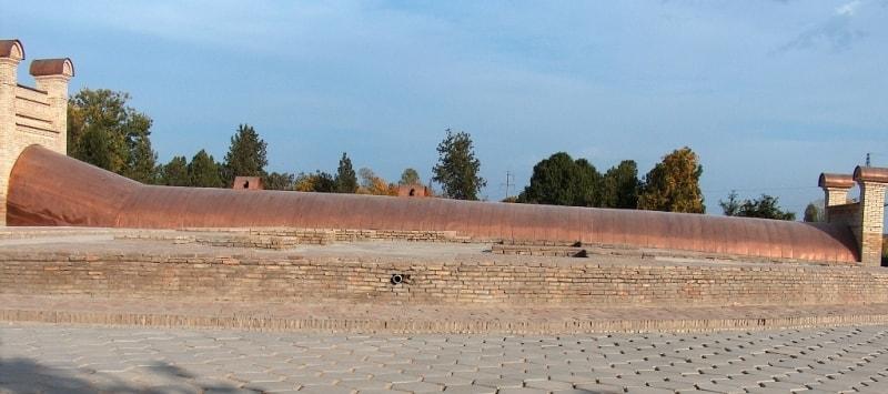 Обсерватория Улугбека в Самарканде.