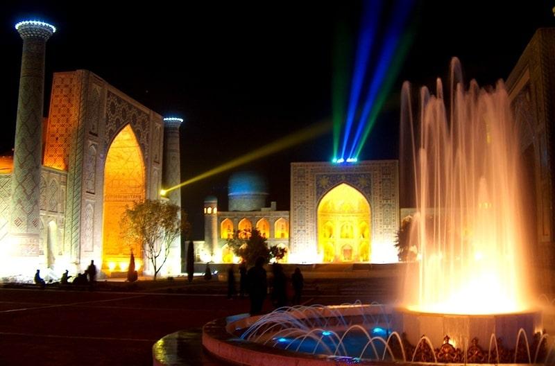Площадь Регистан.