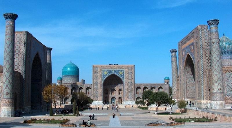 Architectural complex Registan.