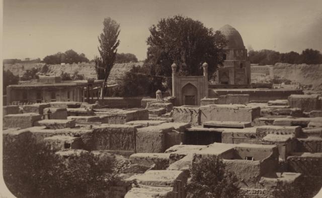 Рухабат мавзолей. Фотография из Туркестанского альбома.