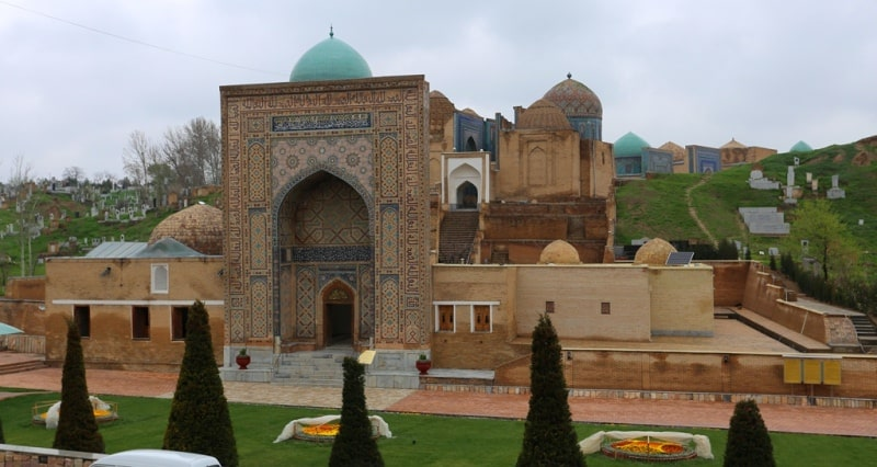 Южная группа мавзолеев Шахи-Зинда.