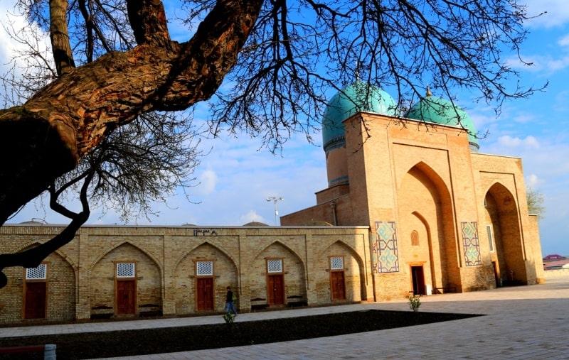Dorut-Tilovat memorial complex in Shakhrisabz.