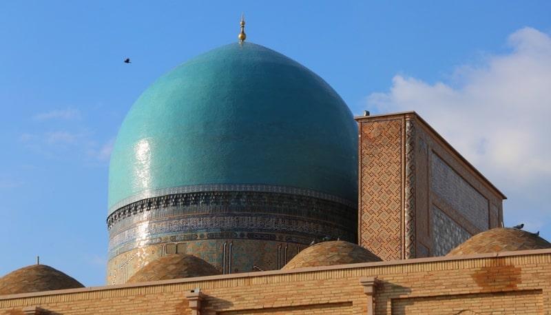 Кок-Гумбаз мечеть в Шахризабсе.