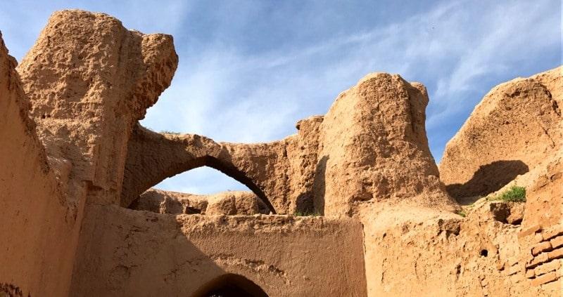 Дворец Кырк-кыз кала у Термеза.