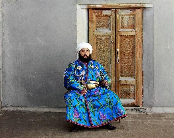 Sayid Amir Alim Khan. Photographer Sergey Mikhailovich Prokudin-Gorsky. Emir of Bukhara. Bukhara Between 1907.