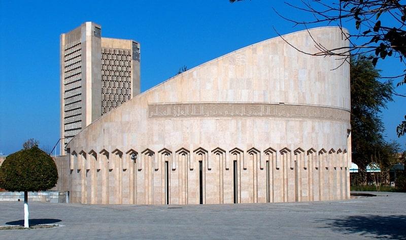 Imam Al-Bukhari Museum in Bukhara.