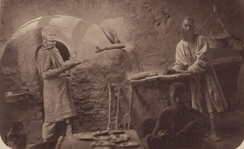 Baking production. Turkestan album. (1871 - 1872).