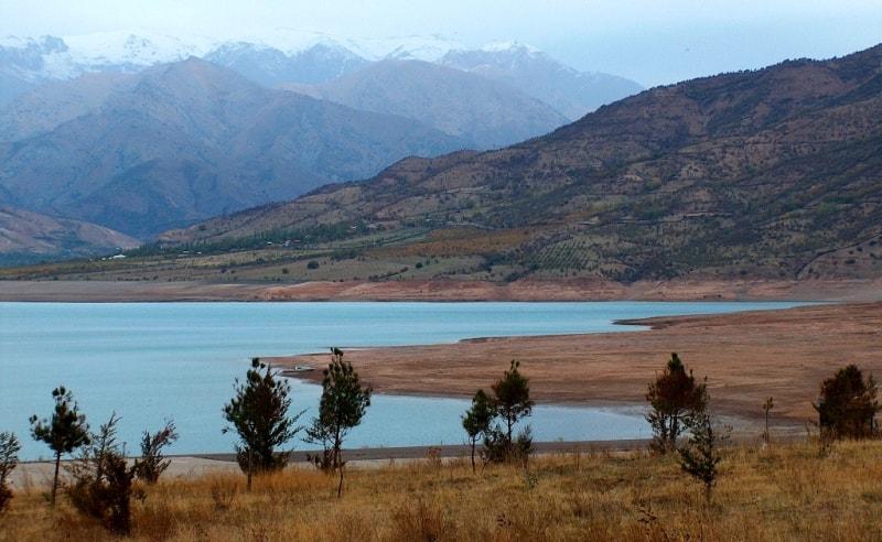 Charvak reservoir.
