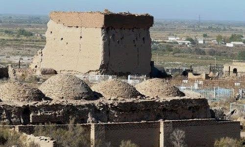 Archeologic complex Mizdakhan (X - XIV c.c.).