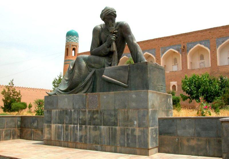 Аль-Хорезми памятник. Хива.