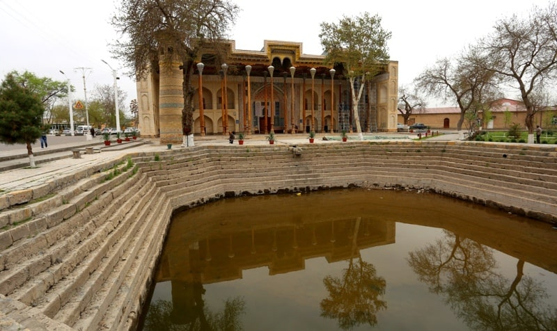 Mosque Bolo khouse. Bukhara.