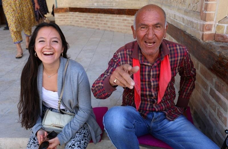 Люди Узбекистана.