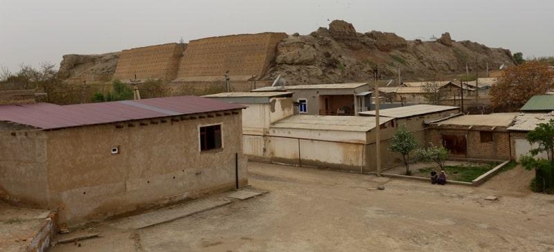 Окрестности Зиндана в Бухаре.