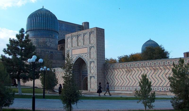 Мечеть Биби ханум. Самарканд.
