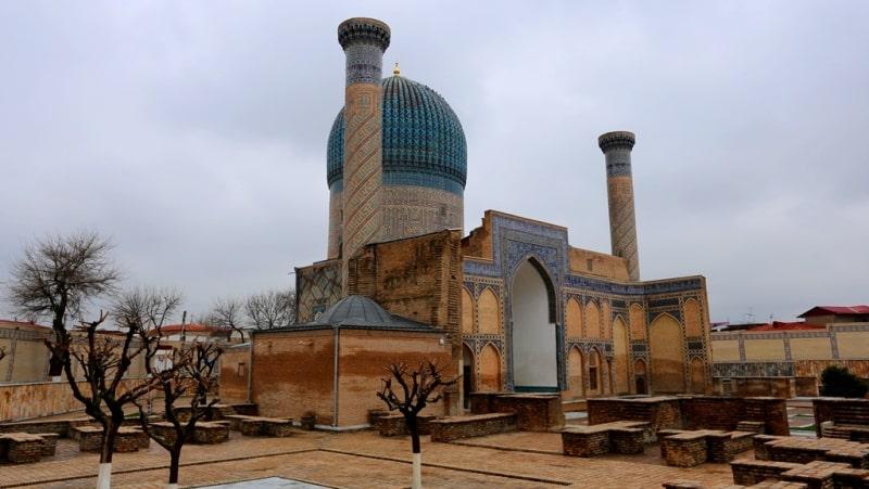 Mausoleum Gur-Emir. Samarkand.