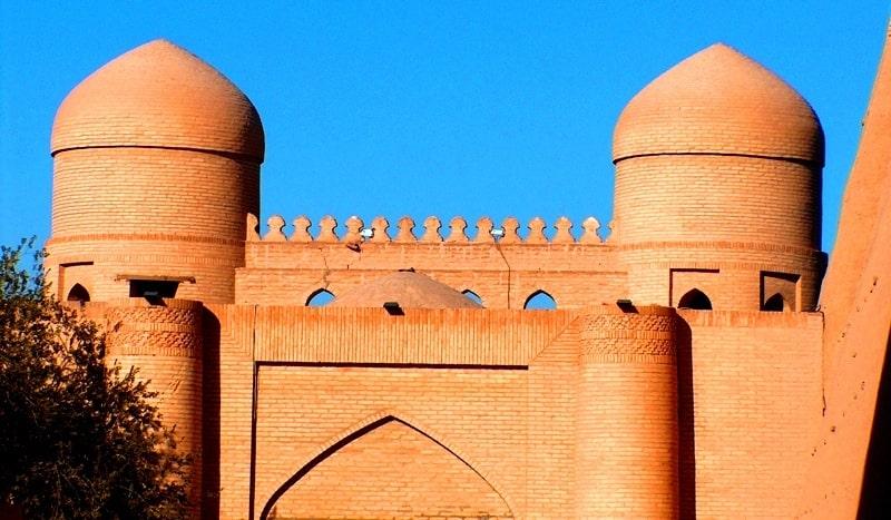 Ata-Darwaz gate in Khiva.