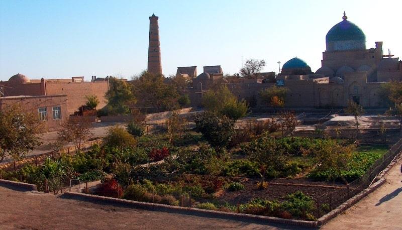 Dzhuma minaret. Khiva.