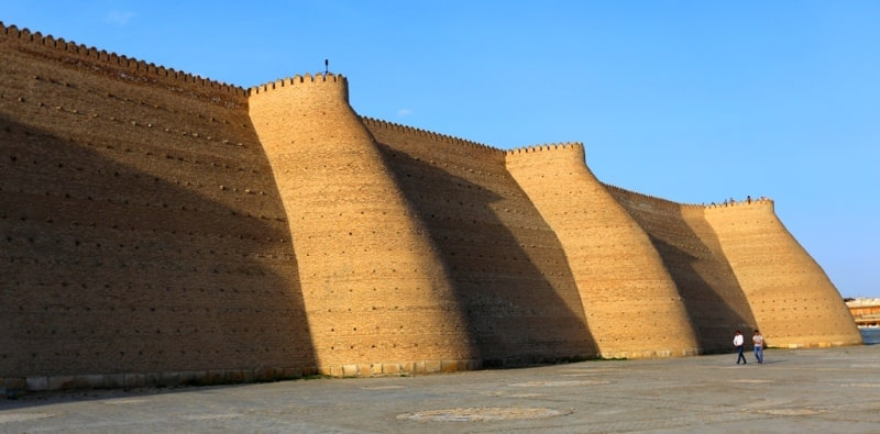 Fortress of the Arc in Bukhara.