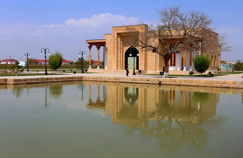 Bagautdin Nakshbandi's complex in the neighborhood of Bukhara.