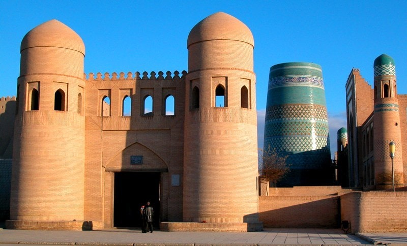 Gate of Ata-Darwaz. Khiva.