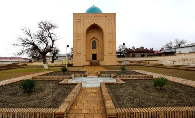 Bibi-hanum mausoleum in Samarkand.