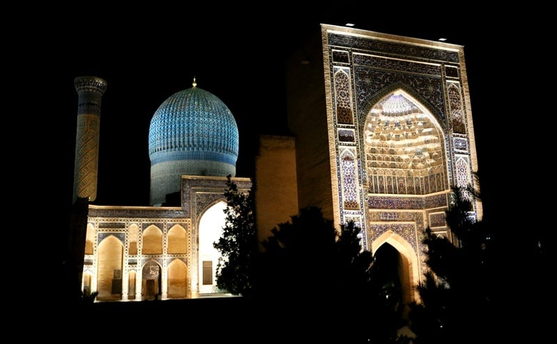 Mausoleum Gur-Emir.Xiv - the 15th century. Samarkand.